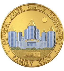Image of Family Coin ($AJFF) Gold