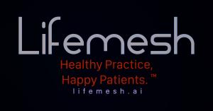 The logo of Lifemesh Corp, making Healthy Clinics and Happy Patients. https://lifemesh.ai