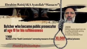 25 May 2021 -Ebrahim Raisi, the henchman of the 1988 massacre, one of the worst criminals against humanity, will be the regime's next president.
