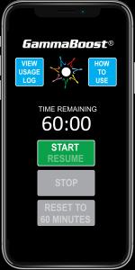 GammaBoost app Start Screenshot