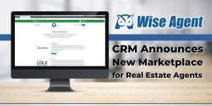 Wise Agent's real estate marketplace displayed on computer desktop