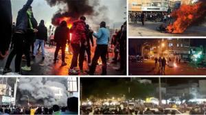 28 May 2021 - Scenes of the November 2019 uprising across Iran.
