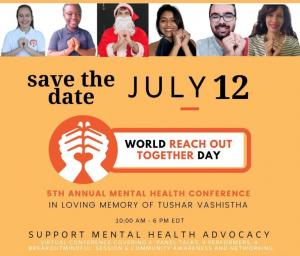 July 12, 2021, marks the fifth annual World Reach Out Together Day.