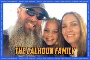 The Calhoun Family Pearland Texas