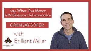 Oren Jay Sofer Podcast Interview