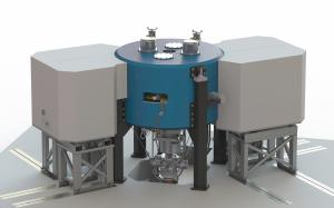 Best 6–15 MeV Compact Variable Energy Cyclotron System (Closed View with Shielding)