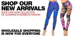Shop New Arrivals at WholesaleLeggings.com