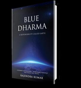 Blue Dharma Book Cover