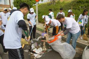 Scientology Churches adopt streets and parks and hold neighborhood cleanup events.