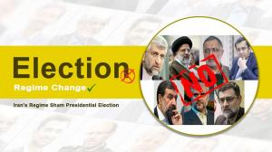 June 6, 2021 - Boycott Iran Sham Elections.