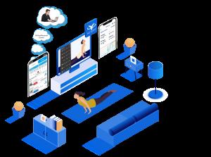 Virtual Fitness Actofit Platform