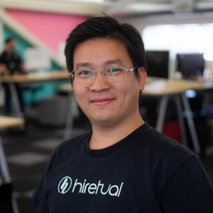 Steven Jiang, CEO and co-founder of Hiretual