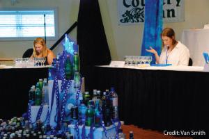 Deliberations at Berkeley Spring International Water Tasting