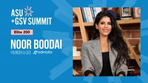 Edmate Founder & CEO, Noor Boodai
