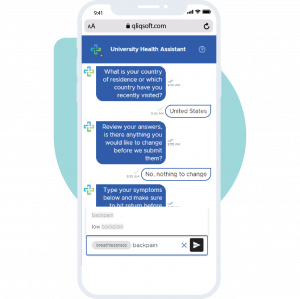 QliqSOFT Healthcare Chatbots with Isabel Symptom Checker
