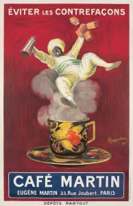 Leonetto Cappiello, Café Martin (1921). Estimate: $14,000-$17,000.