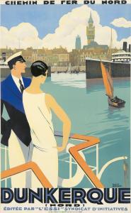 Roger Broders, Dunkerque (1929). Est. $17,000-$20,000.