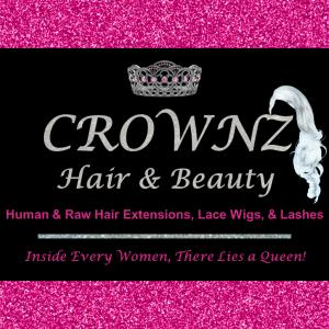 CROWNZ Hair and Beauty Logo