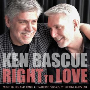 """""""Right To Love"""" new song release photo of artist Ken Bascue with his husband Richard"""