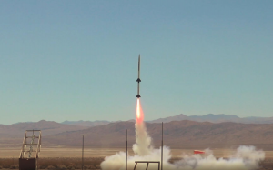 U.H. rocket named Kuamo'o (Milky Way)