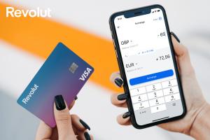 Revolut mobile app