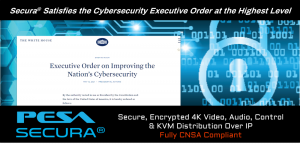 PESA Fully Complies with Executive Order CNSA Cybersecurity Objectives