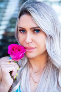 Olyasha Novozhylova,  founder and creator of Not Basic Blonde