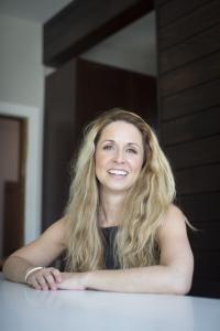 Emily Mackie,  award-winning designer, entrepreneur, and founder of Inspired Interiors
