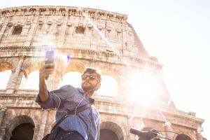 Matthew Keezer in Rome