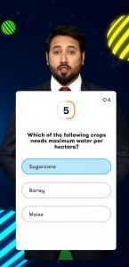 Question Screen