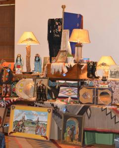 Western antiques and collectibles are always popular.