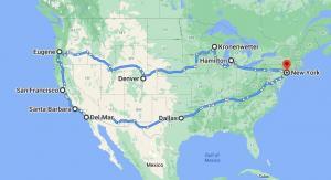 Art Shuttle New York – Colorado – California