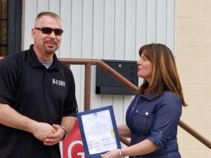Adding to a Long List of Certifications and Awards for Exemplary Service