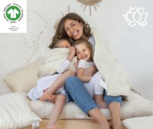 White Lotus Home GOTS Organic Children Mattresses, Pillows and Bedding.