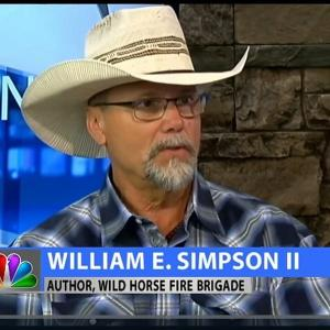 William E. Simpson II appearing on ABC News