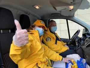Scientology Volunteer Ministers set up a pandemic helpline and responded with service to those in need