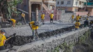It was hard but necessary work, and the Scientology Volunteer Ministers and local volunteers kept at it until the water could flow back to the sea.