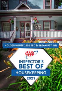 Holden House received Best Of Housekeeping 2021 from AAA