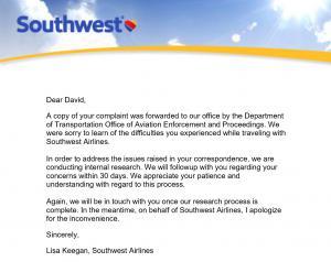Southwest Transfarency