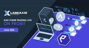 LaneAxis Listing on ProBit June 30th