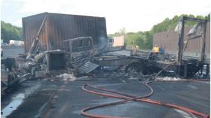 Vehicle Fires on Motorways, Highways or Autobaans