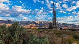 Drilling Rig in the Piceance Basin