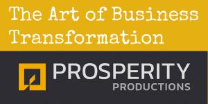 Logo for series from Lori Hamilton called The Art of Business Transformation