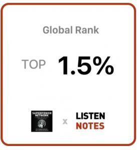 Superpower Network Top 1.5% of Podcasts