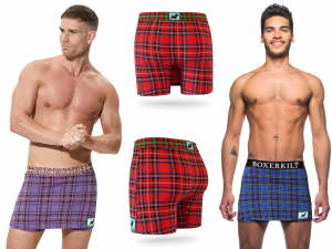 Healthy Underwear for Men is Loose Fitting, but Comfortable Underwear for men is Snug Fitting, Boxers or Briefs? Now there is a Third Choice, the Boxerkilt.