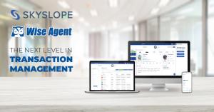 Wise agent and SkySlope integration displayed on computer desktop