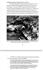 Department of Interior Document discussing Copco 1 dam
