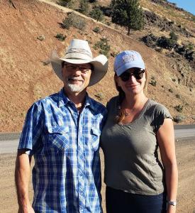 Ashley Avis and Naturalist Ashley Avis