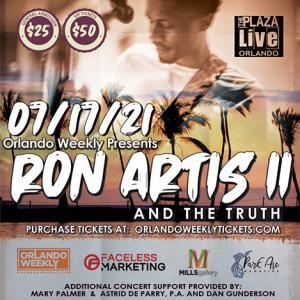 Ron Artis II & the Truth - Faceless Marketing - Orlando Weekly