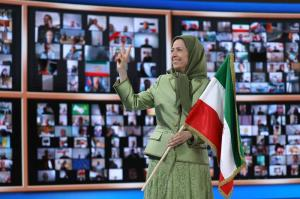 July 16, 2021 - Maryam Rajavi: Installing Raisi as president a sign of the regime's final stage, fear of uprising, entrenchment, and intensified internal purge.